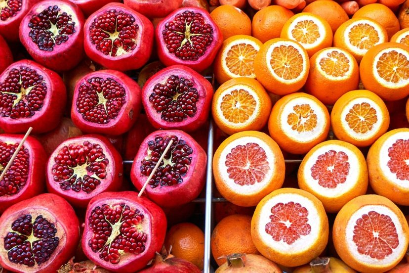 Difference Between Citrus Fruits And A Pomegranate